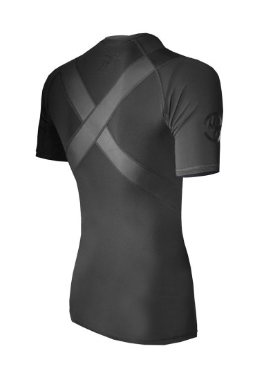 X-Form Short Sleeve Compression Top Back