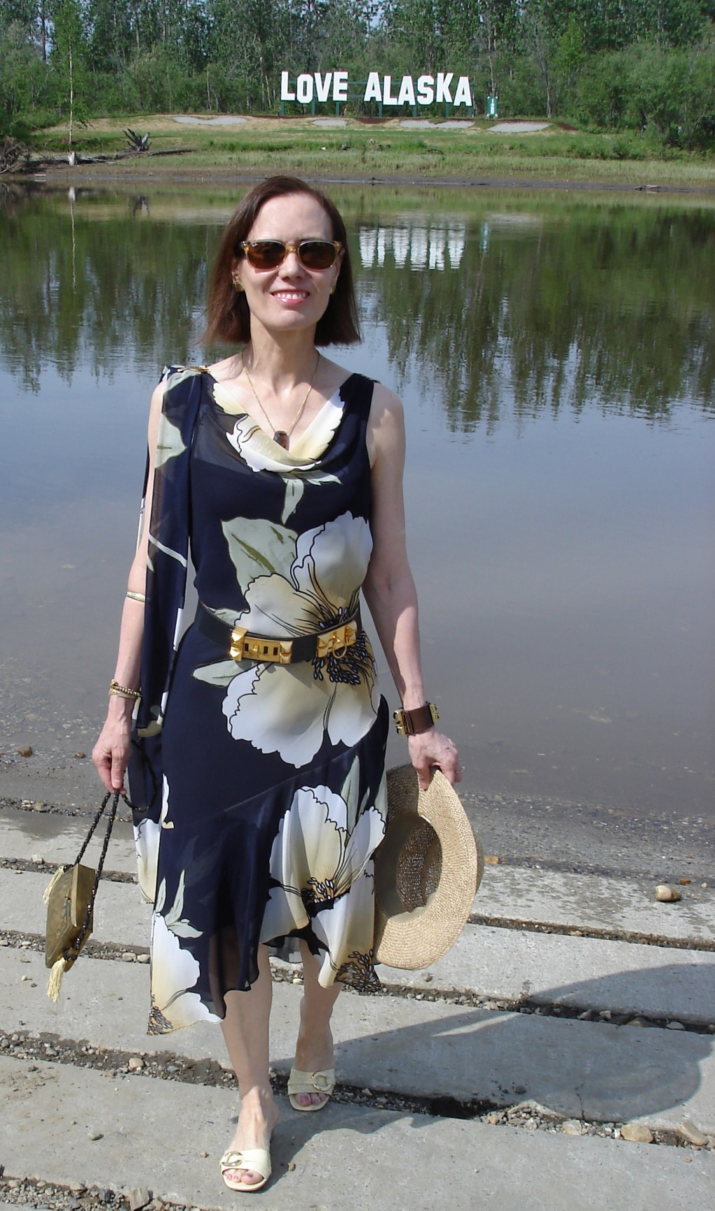 fashionover40 outfit for a beach wedding