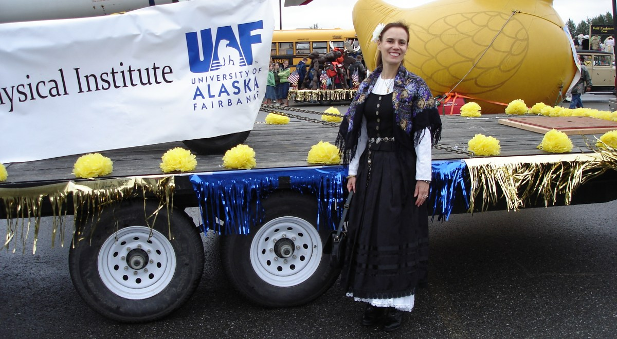 #Travel #Alaska Gold Rush costume for the Golden Day Parade in Fairbanks | High Latitude Style