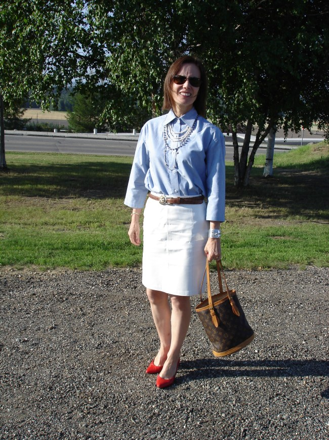 #over40 Summer office look over 40 | High Latitude Style | http://www.highlatitudestyle.com