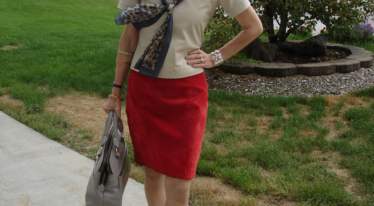 #over40fashion #maturefashion wearing leather to work over 40 | High Latitude Style | http://www.highlatitudestyle.com