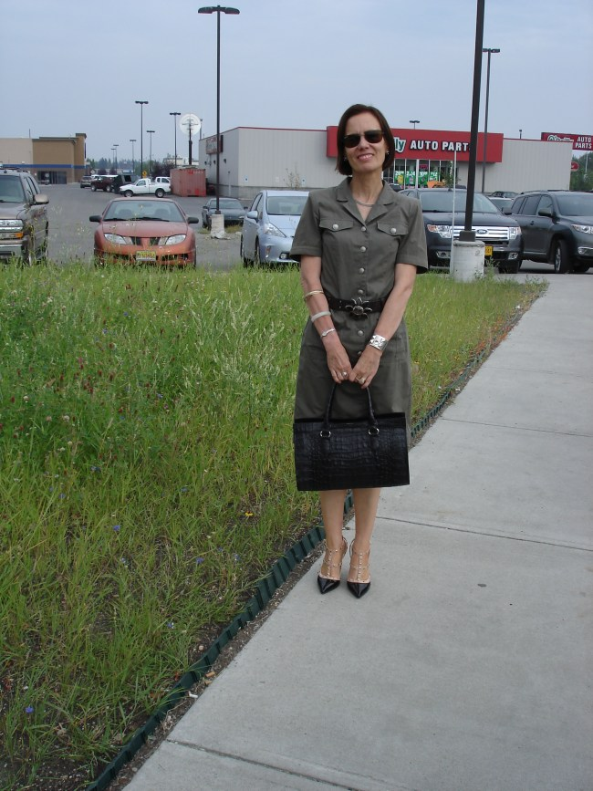 #over40 militray trend| High Latitude Style | http://www.highlatitudestyle.com