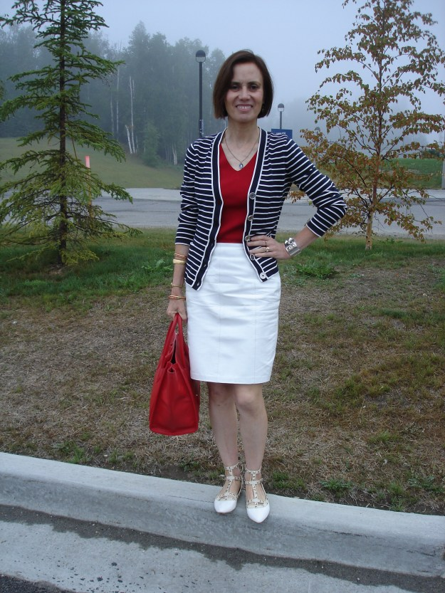 patriotic outfit inspiration for mature women