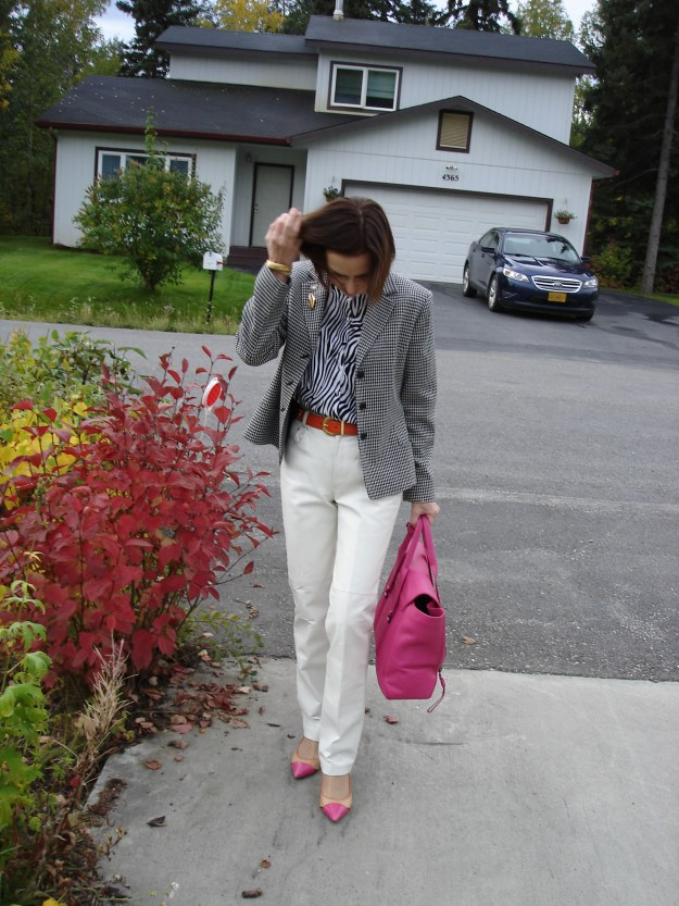 #over40fashion #over50fashion How I wear my animal print