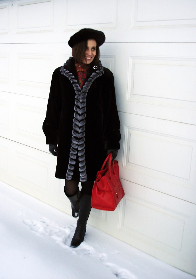 fashion over 40 Classic winter outfit