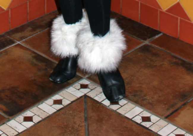 booties with boot toppers