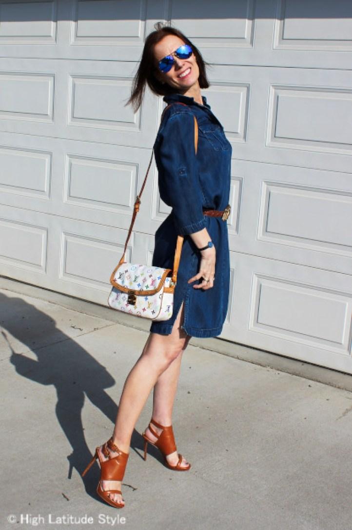 fashionover40 work outfit @ HighLatitudeStyle