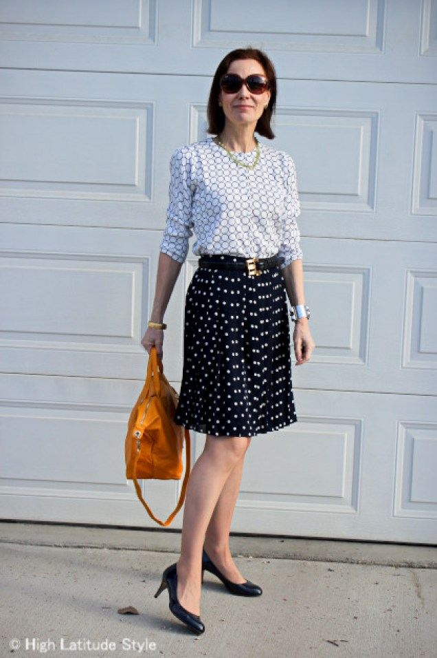 Classic American style for mature women