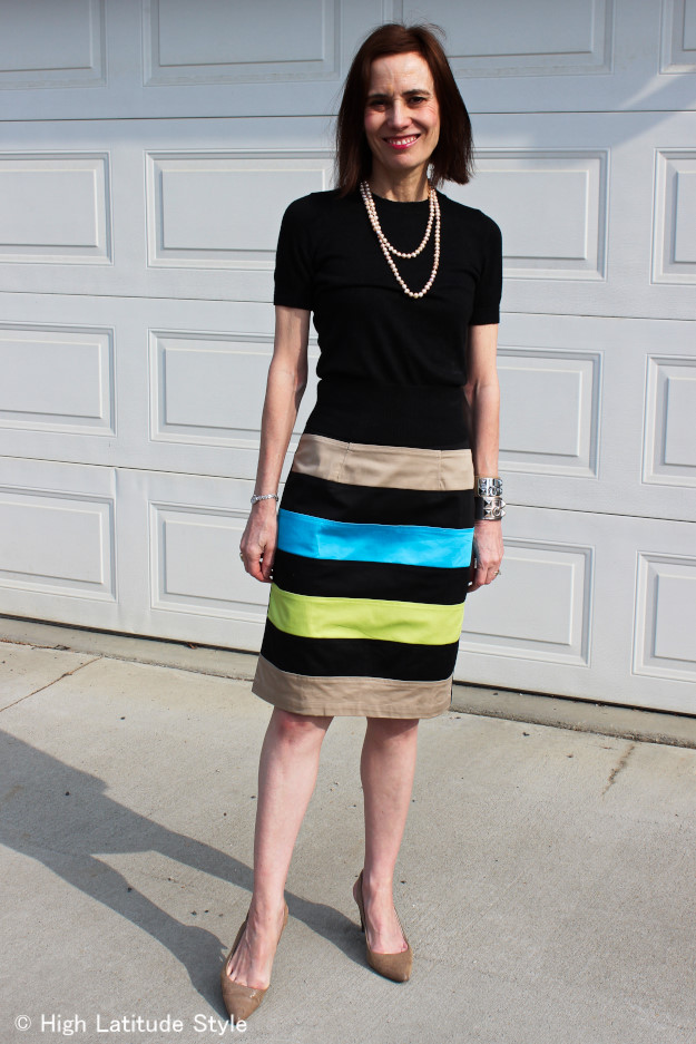 #eShakti custom made skirt http://www.highlatitudestyle.com