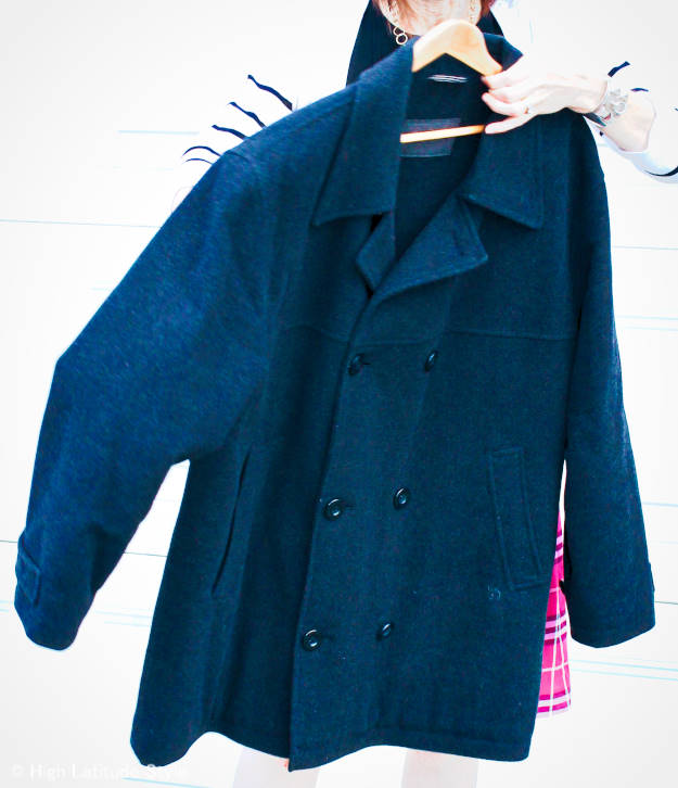modern version of what to look for in a pea coat