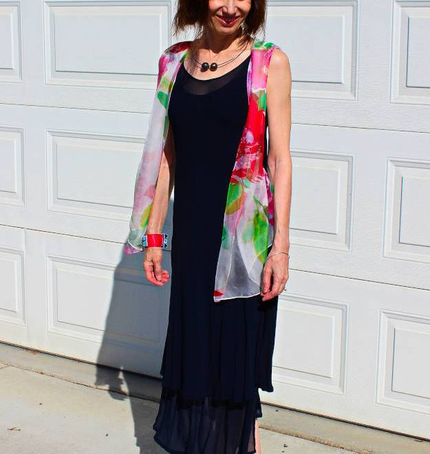 #over40 #over50 outfit for a beach wedding | High Latitude Style | http://www.highlatitudestyle.com