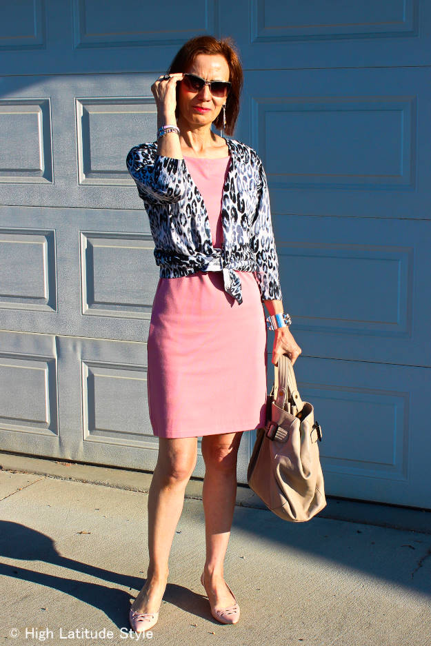 #over40fashion dinner party outfit