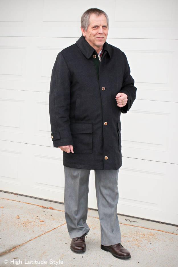 #fashionhistory Innsbrucker janker men's coat