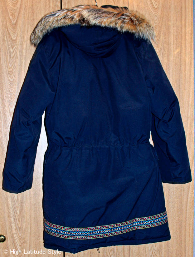 example of an Arctic rated down coat