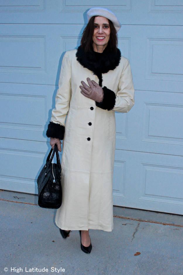 #adealayeringtop #fashionover50 classic layering top under a coat