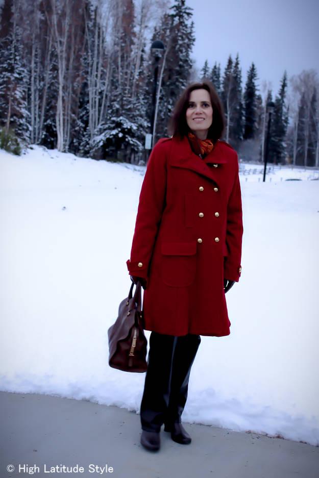 #winterclothes #winterlook #stayingwarm #peacoat #HighLatitudeStyle