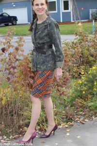 Read more about the article You Can Look Timelessly Stylish by Mixing Plaid with Camouflage Pattern