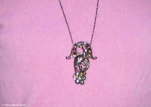 jewelry peacock silver pendant