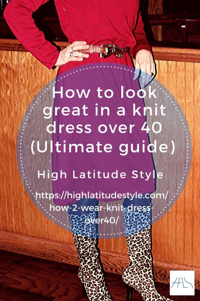 post banner how to look great in a knit dress over 40 ultimate guide