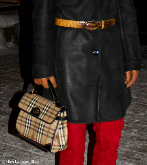 bag and belt | High Latitude Style | http://www.highlatitudestyle.com