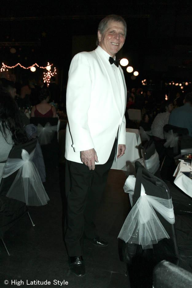 #fashionover50 men's evening attire | High Latitude Style | http://www.highlatitudestyle.com