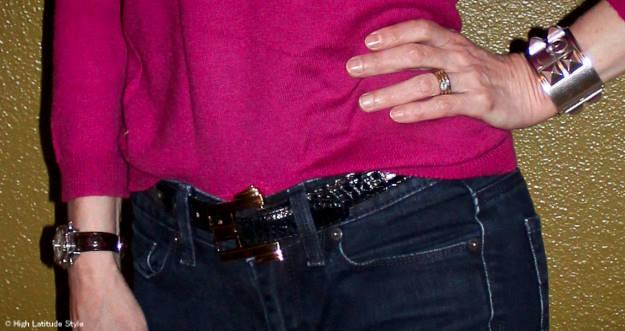 #Accessories watch, belt buckle
