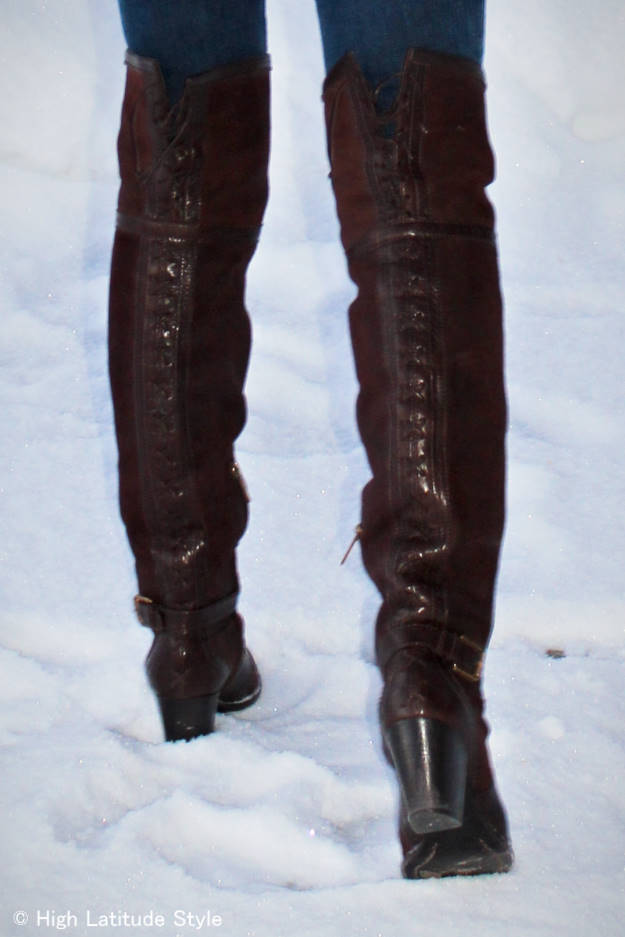 #otkboots Dior over-the-knee boots over 40