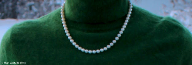 #Akoya pearl necklace details