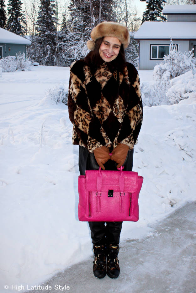 Creative outwear look | High Latitude Style | http://www.highlatitudestyle.com