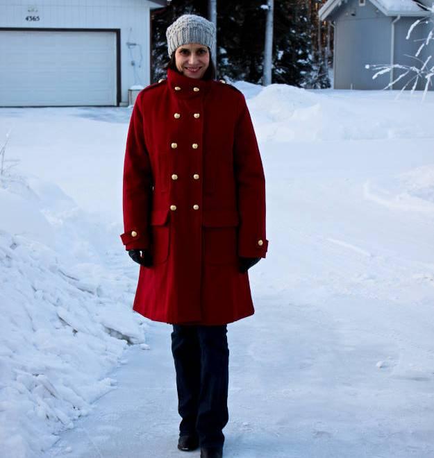 #styleover40 woman in winter outwear