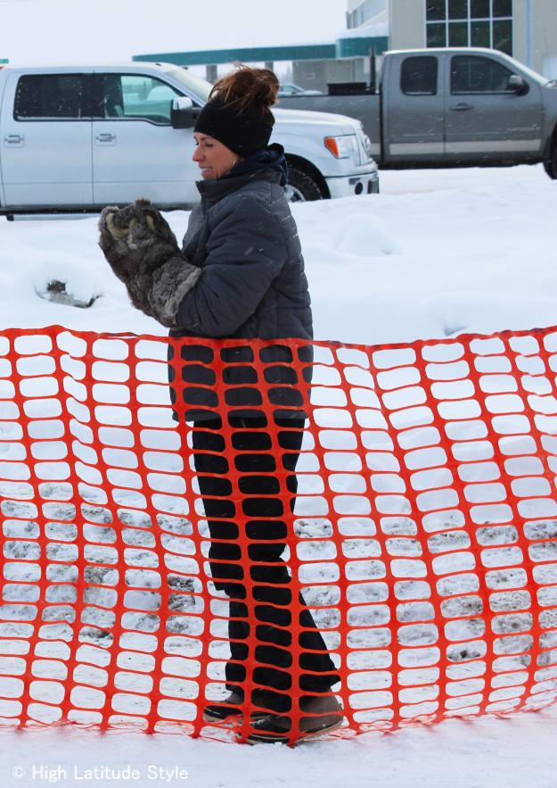#Streetstyle #Alaska  X-tra tuffs are the It boots in Alaska