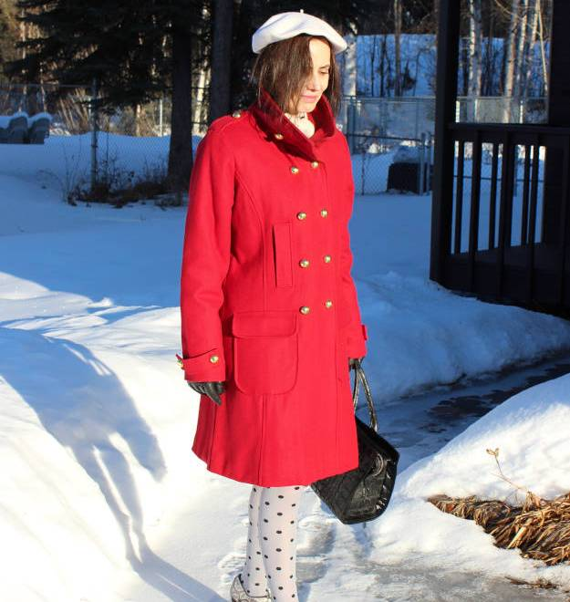 #over40fashion #over50fashion how to look ageless in the military trend - winter outfit in militray trend | High Latitude Style | http://www.highlatitudestyle.com