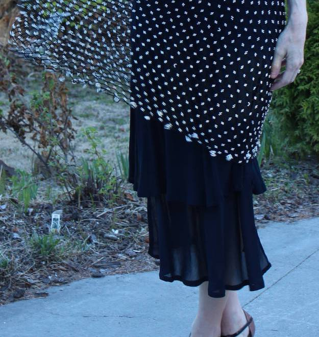details of meshnet dress | High Latitude Style | http://www.highlatitudestyle.com
