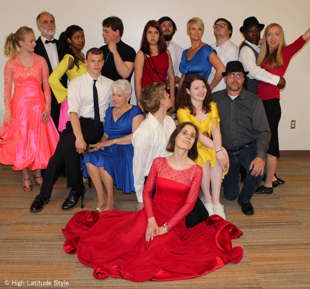 members of the dancing with the Fairbanks stars competitors