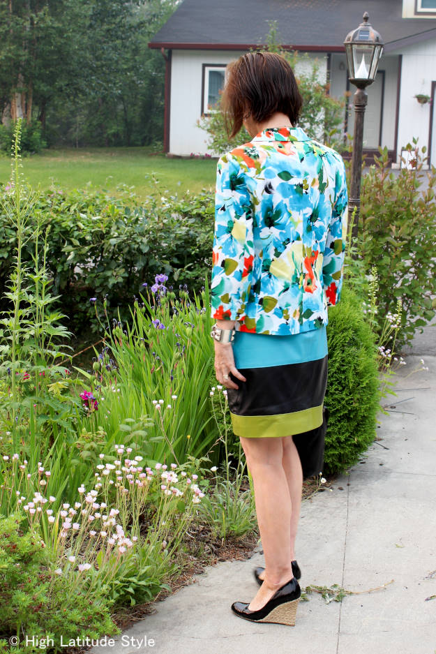 #fashionover40 #fashionover50 daring to wear color over 40 | High Latitude Style | http://www.highlatitudestyle.com
