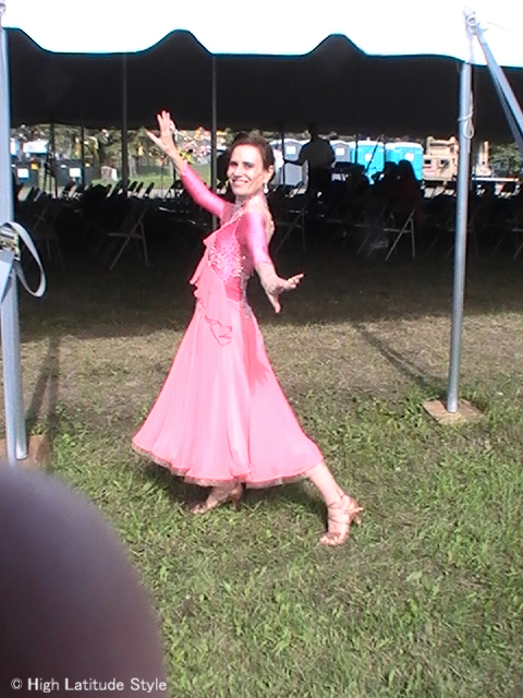 #styleover50 Warmup for Dancing with the Fairbanks Stars #danceclothes