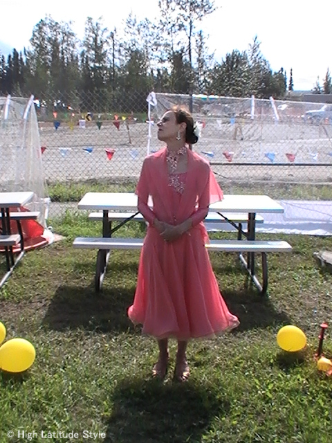 #over50 dance gown Dancing with the Fairbanks Stars