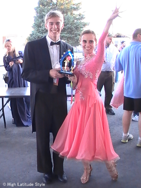 #over50 winning third prize at the Dancing with the Fairbanks Stars