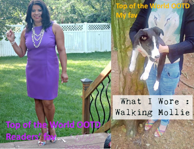 #linkup Winners of the titles Top of the World OOTD - Readers' Fav and Top of the World OOTD - My Fav