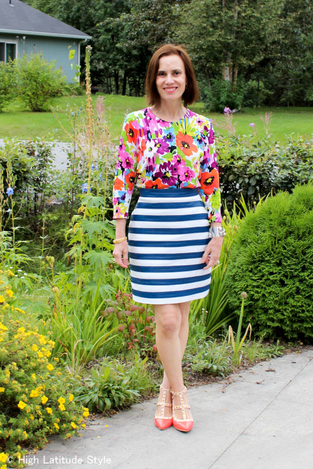 #fashionover50 The best outfits of August - OOTD