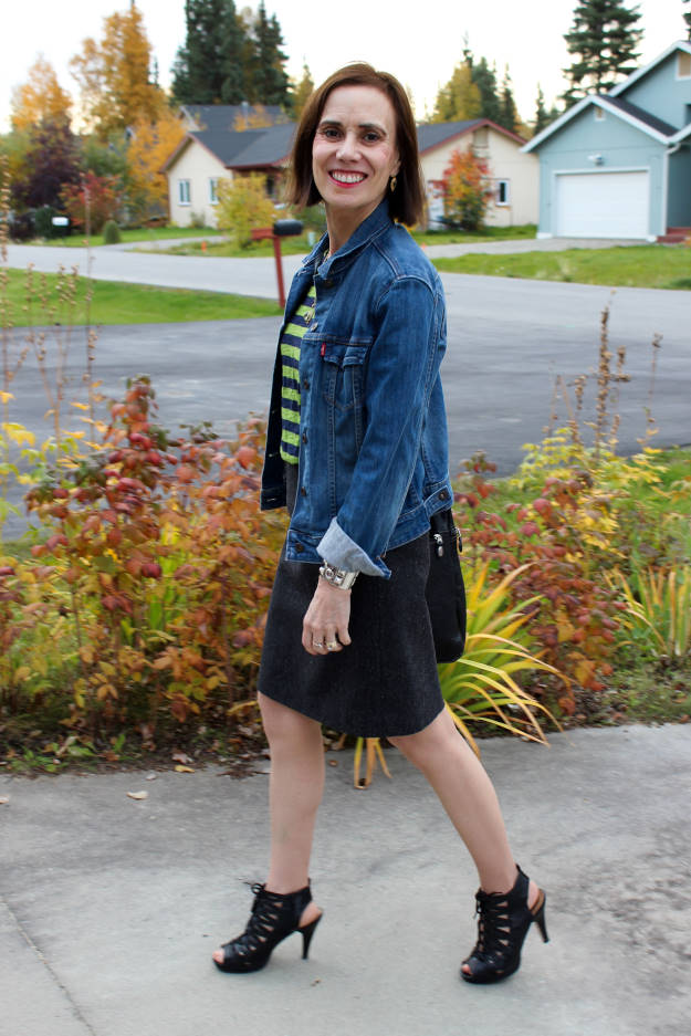 #fashionover40 #fashionover50 Style challenges for 40+. Casual fall outfit @ High Latitude Style @http://www.highlatitudestyle.com