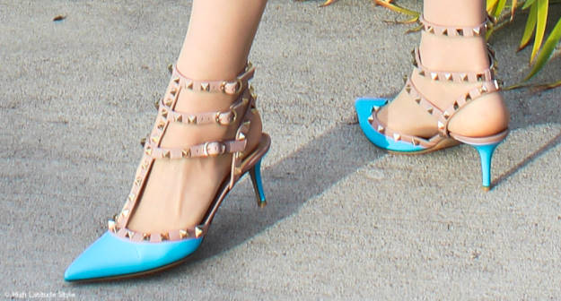 #fashionover50 Valentino stud reasons to love heels @ http://www.highlatitudestyle.com