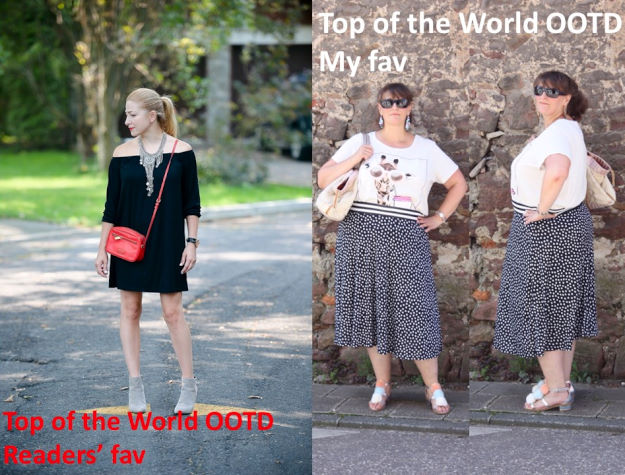 Winners of the titles Top of the World OOTD Readers' Fav and Top of the World OOTD My Fav at the weekly Top of the World Style fashion linkup party on Thursdays