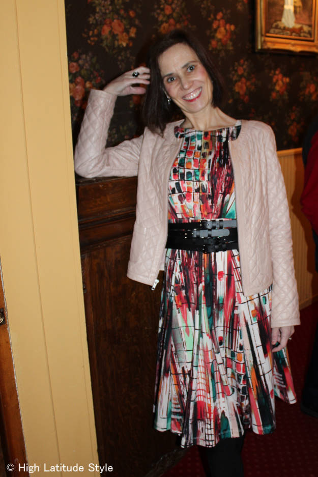 fashion over 50 outfit for going out
