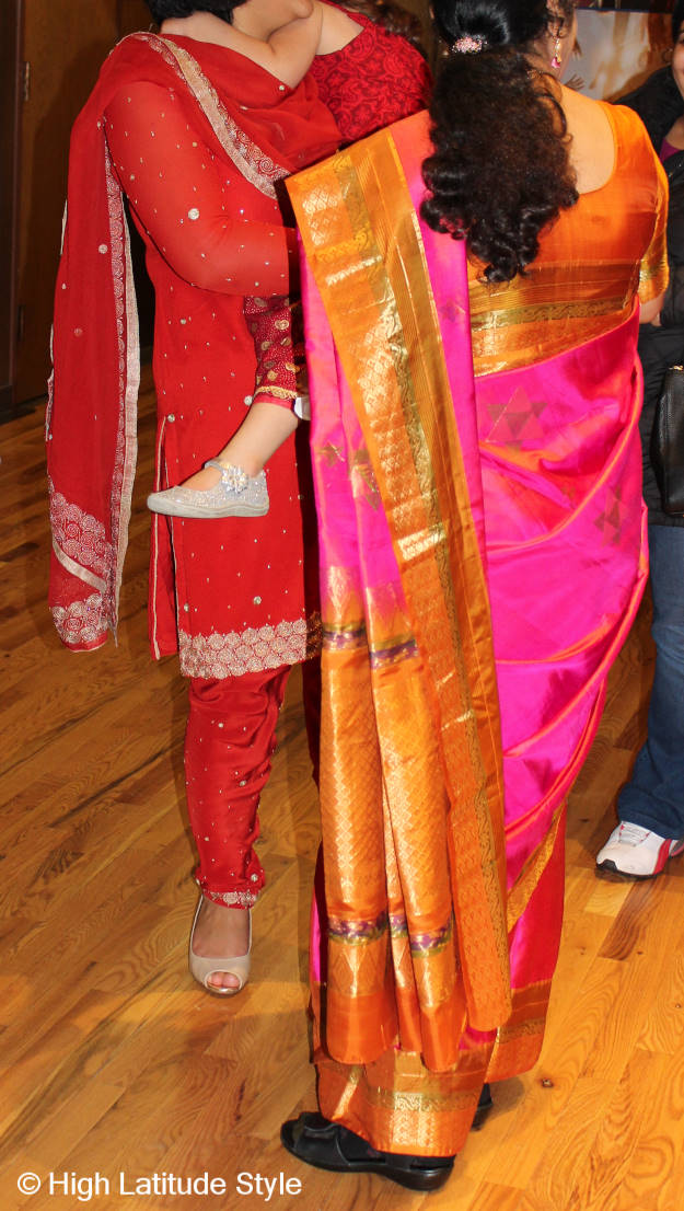 #fashionover40 #fashionover50 Great Indian outfits at the party