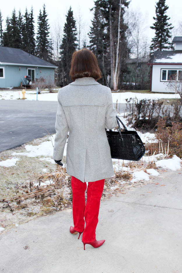 #fashionover40 #fashionover50 outfit at the weekly Top of the World Style fashion linkup party