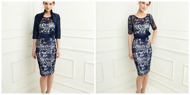 #fashionover50 BeFormal.com.au romantic feminine lace evening wear