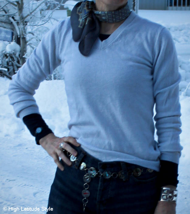 #halftee layering and styling inspirations for mature women