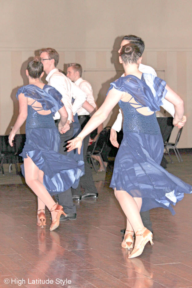 #FocusAlaska young dancers in ballroom dance gowns and suits