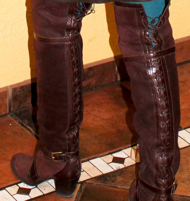 #Dior #OTKboots dtails of boots and a giveaway @ High Latitude Style